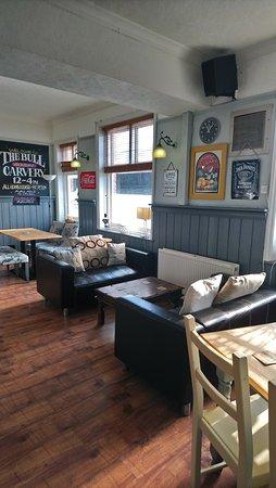 The Bull Inn East Farleigh: pub side