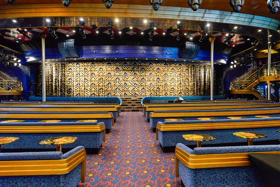 Blue Sapphire Lounge on Carnival Ecstasy
