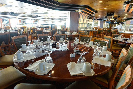 Wind Star Dining Room on Carnival Ecstasy