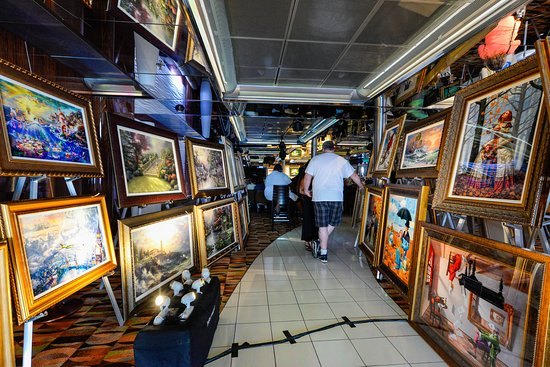 Art Auction on Carnival Ecstasy