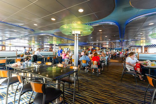 Panorama Bar and Grill on Carnival Ecstasy