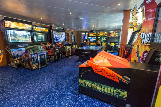 Video Zone on Norwegian Sun