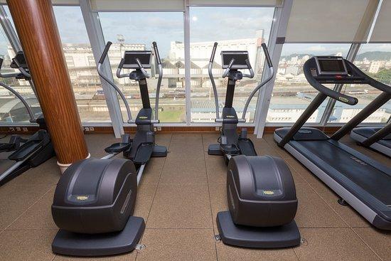 Fitness Center on Norwegian Sun