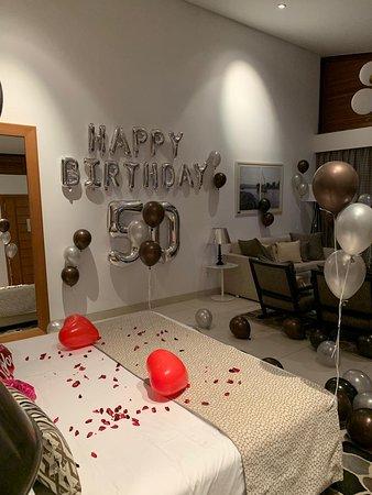 50 bithday celebration
