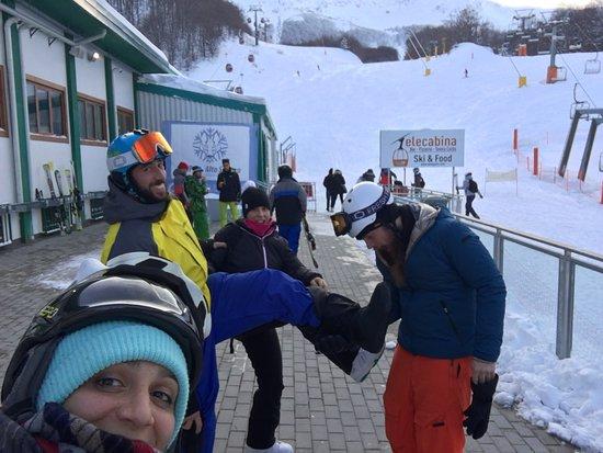 Roccaraso, Italy: Grande giornata di neve!!!