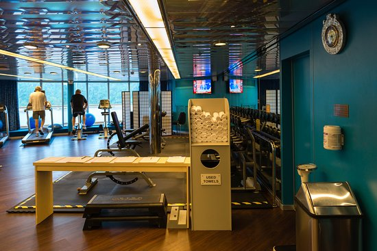 Fitness Center on Oosterdam