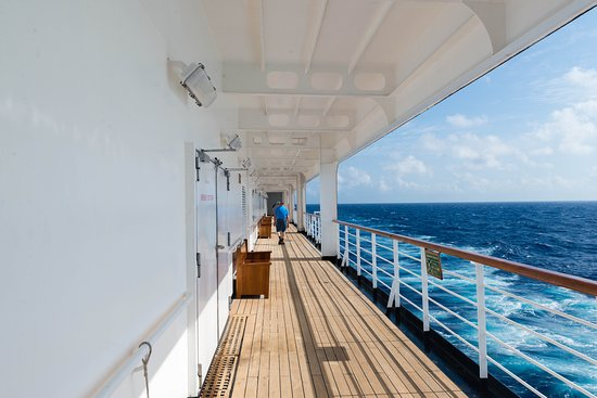 The Promenade Deck on Oosterdam