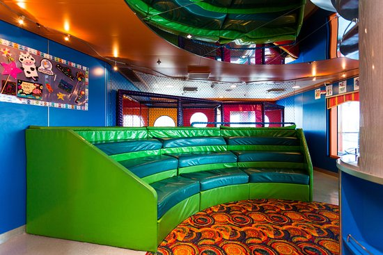Youth Center on Star Princess