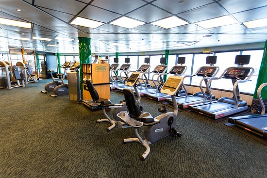 Fitness Center on Star Princess