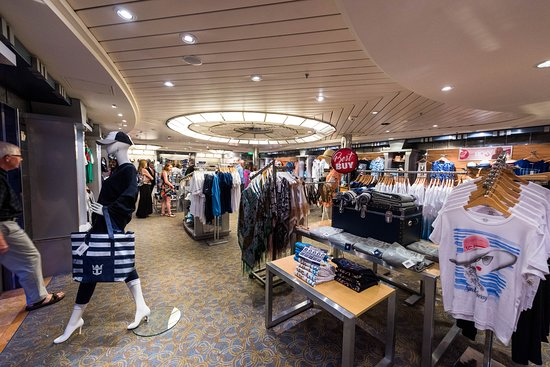 Shops on Adventure of the Seas