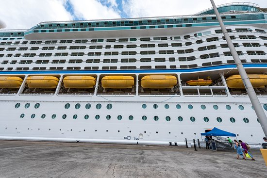 Ship Exterior on Adventure of the Seas