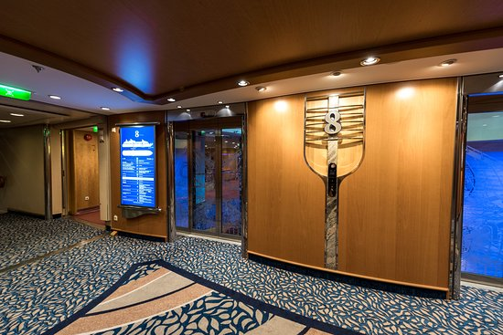 Elevators on Adventure of the Seas