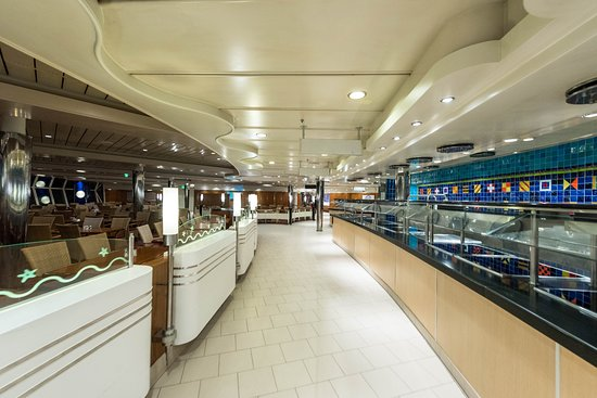 Windjammer Marketplace on Adventure of the Seas