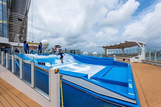 FlowRider on Adventure of the Seas