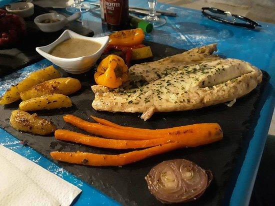 Teepy Snack: filet de poisson et ses legumes