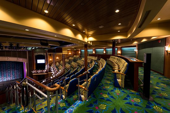 The Lyric Theater on Adventure of the Seas
