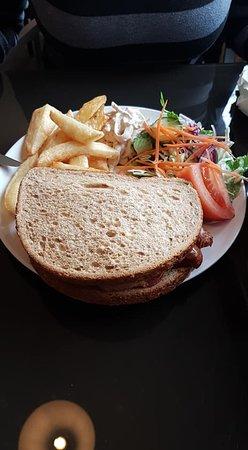 Tsada, Cyprus: Lovely breakfast sandwich