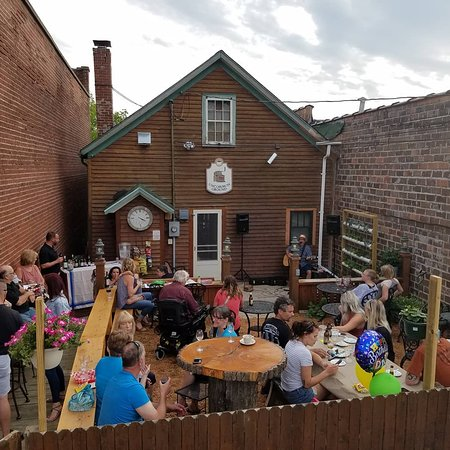 Live music on the back patio!