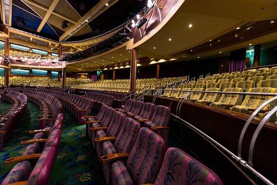The Lyric Theater on Adventure of the Seas