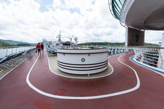 Jogging Track on Adventure of the Seas