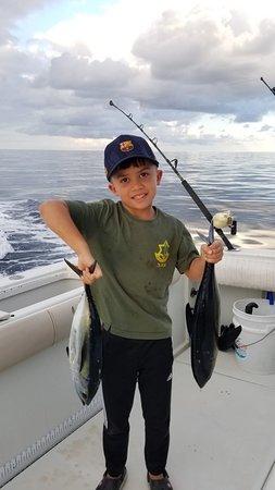 West End, Honduras: 2nd Black Fin Tuna