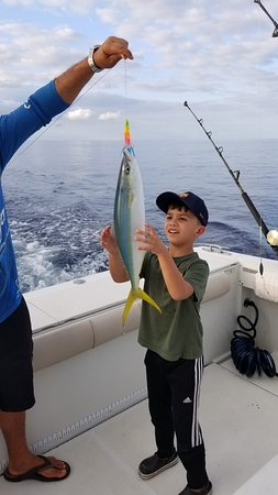West End, Honduras: Beautiful Ocean Yellowfin Tuna
