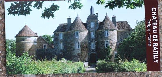 Le flyer publicitaire du Château de Ratilly