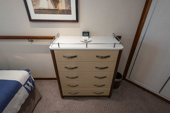 The Deluxe Oceanview Cabin (Category AX) on Wind Star