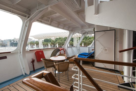 The Sun Deck on Wind Star