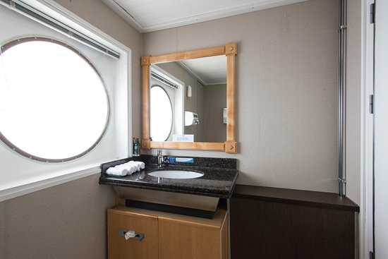 Restroom on Wind Surf