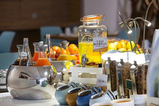 Mercure Paris Vaugirard Porte de Versailles Hotel: Petit-déjeuner buffet