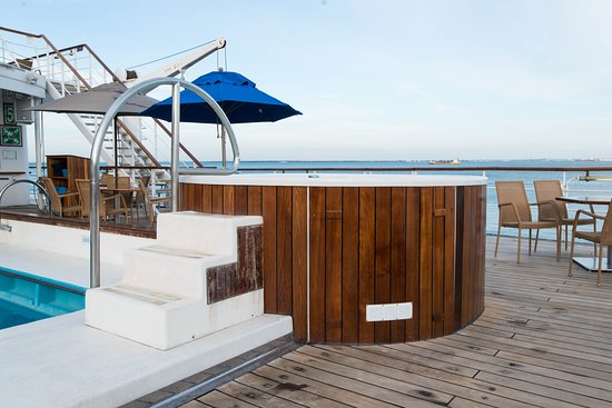The Pool Deck on Wind Surf