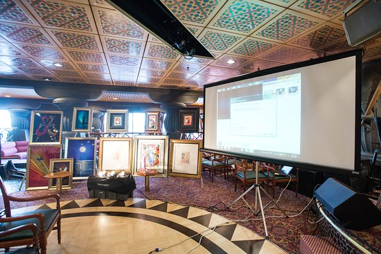 Art Auction on Carnival Fascination
