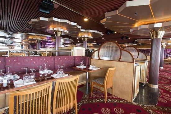 Sensation Dining Room on Carnival Fascination