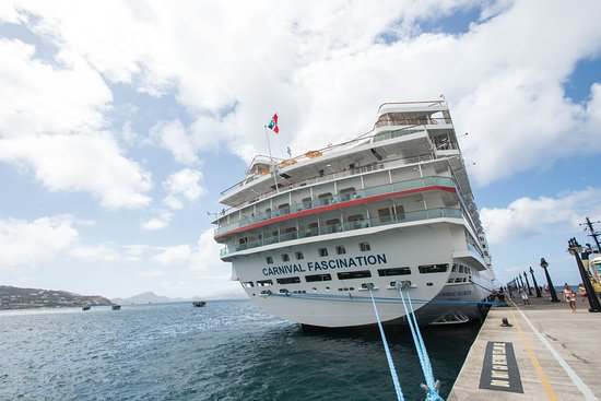 Ship Exterior on Carnival Fascination