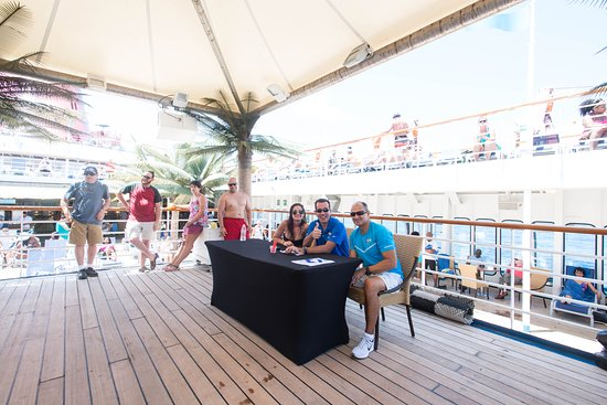 Deck Activities on Carnival Fascination