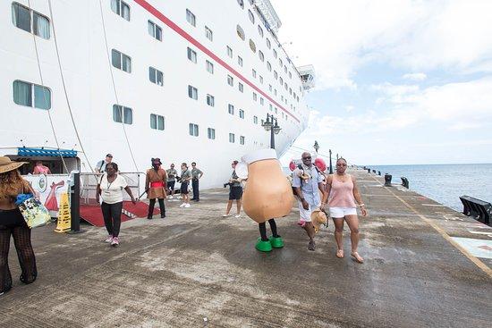 Boarding Area on Carnival Fascination