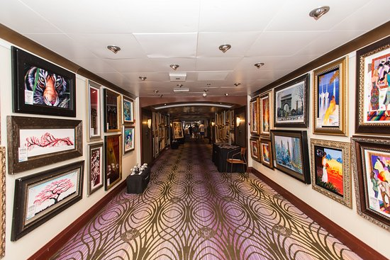 Art Gallery on Carnival Fascination