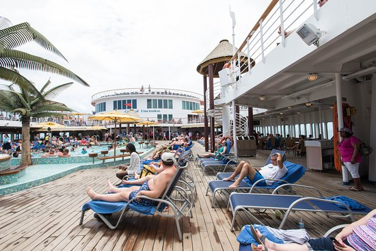 The Pool on Carnival Fascination