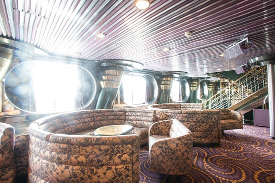 The Palace Lounge on Carnival Fascination