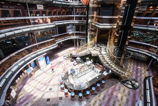 Grand Atrium on Carnival Fascination