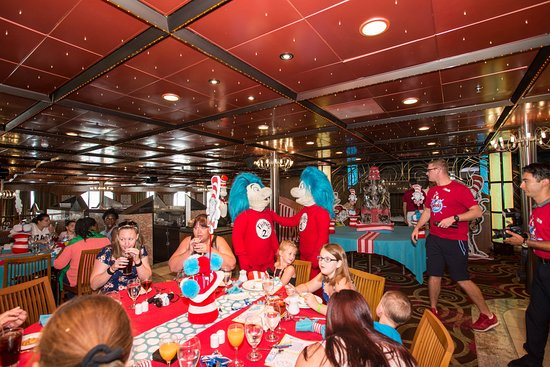 Green Eggs and Ham Breakfast on Carnival Fascination