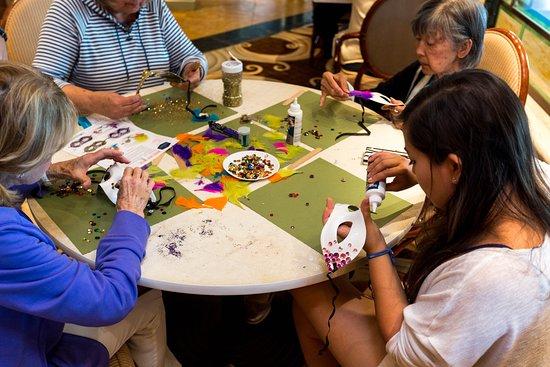 Arts and Crafts on Island Princess