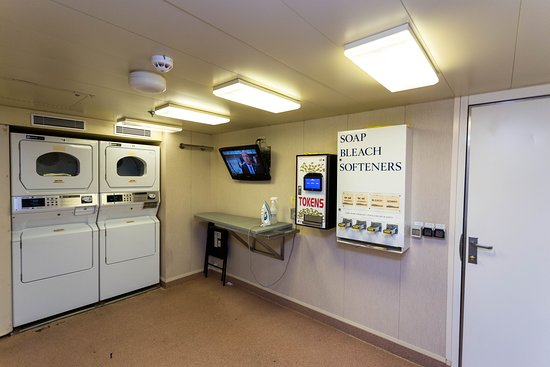 Launderette on Island Princess