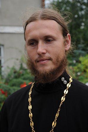 ยูเครน: Prete della Chiesa Ortodossa Ucraina - Monastero di Pochaiv - Nordovest dell'Ucraina.