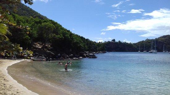 Terre-de-Haut, Guadeloupe : Sugar Loaf Beach