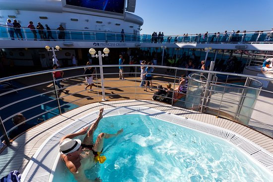 Sail-Away on Island Princess