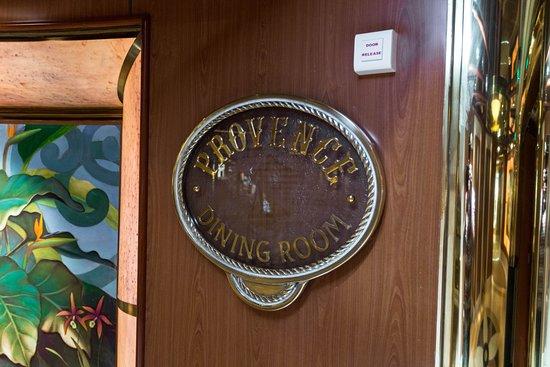 Provence Dining Room on Island Princess