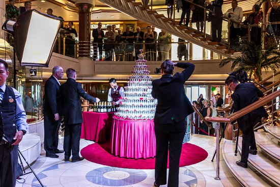 Captain's Champagne Reception on Island Princess