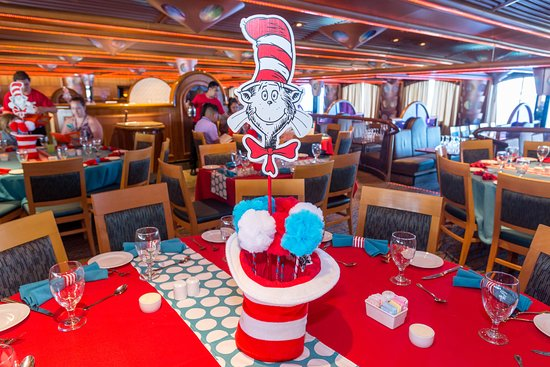 Green Eggs and Ham Breakfast on Carnival Paradise